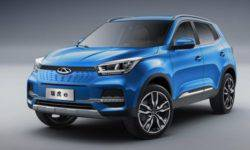 Chery has decided to release an electric version of the crossover Tiggo 4