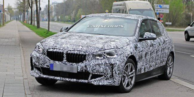 The New Generation Bmw 1 Series Will Get A Unique Grille