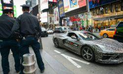 Mid-engine Chevrolet Corvette: first official photos