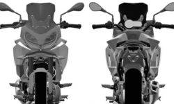 In the Internet appeared the patent image of the new BMW F850RS