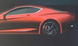 There were photos of hybrid supercoupe Alfa Romeo GTV
