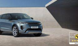 New Range Rover Evoque has received 5 stars in safety rating EURO NCAP