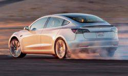 Tesla Model 3 was first tested at the Nurburgring