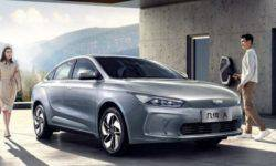 Geely introduced the sedan Geometry A for 31 000 dollars