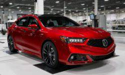 The special version of the Acura TLX will be assembled manually with the NSX