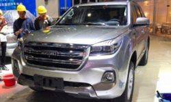 Updated flagship SUV Haval H9 arrived at the motor show in Shanghai