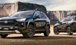 The Toyota RAV4 received four new versions in Japan