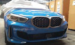 In the Network appeared pictures of the BMW 1 series without camouflage
