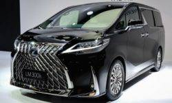 Lexus showed in Shanghai the first minivan in its history