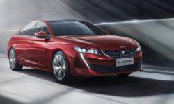 Peugeot will present the Chinese version of the hybrid sedan 508