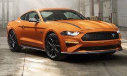 """Ford Mustang equipped with """"turboservice"""" from Focus RS"""