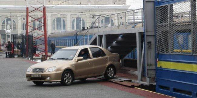 Ukrzaliznytsia will introduce online ordering service transport auto