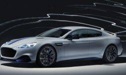 Aston Martin has unveiled its electric supercar serial Rapid E