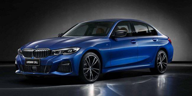 "BMW introduced the ""stretched"" version of the new generation 3-Series"