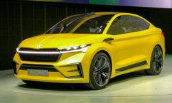 Skoda unveiled in Shanghai conceptual crossover coupe Vision iV
