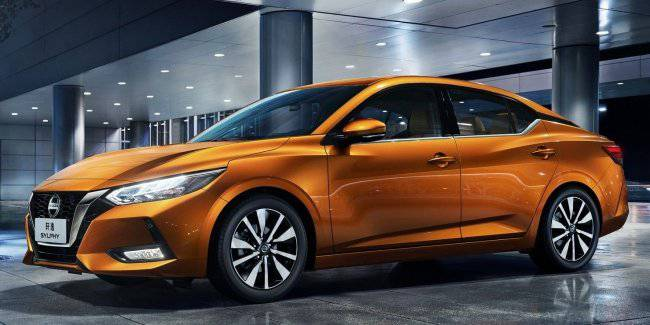 Chinese bestseller: Nissan introduced in Shanghai new Sylphy