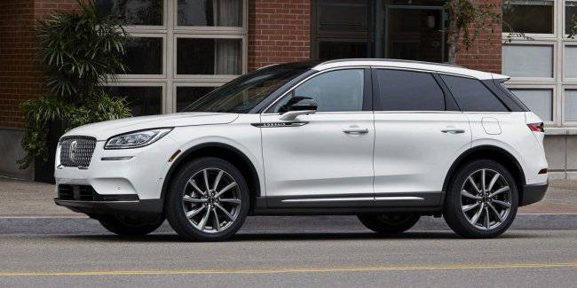 Lincoln introduced a compact crossover Corsair 2020