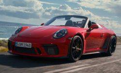 Porsche 911 Speedster the new generation is finally presented
