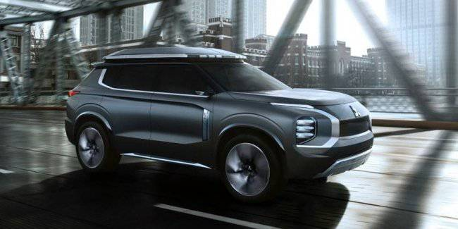 Mitsubishi brought in Shanghai its new concept e-Yi
