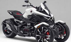 Honda will launch a tricycle in the series Neowing