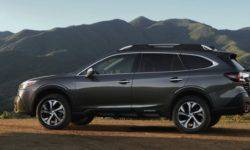 """New Subaru Outback 2020: vertical display in the style of Tesla and """"turboservice"""""""