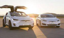 Tesla has started to update its flagship models, Model S and Model X