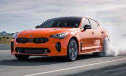 KIA has introduced a special version of the Stinger GTS for drifting