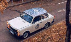 "The Bulgarian tuner did restomod ""Trabant"""