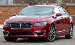There are details of the receiver model Lincoln MKZ