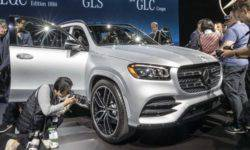 At the motor show in new York, Mercedes-Benz presented the new Mercedes-AMG and SUV's