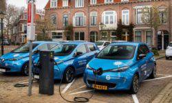Renault begins a pilot project of large-scale equipment electric vehicle charging system of the technology vehicle-to-grid
