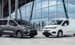 "Toyota introduced the ""heel"" ProAce City for the European market"