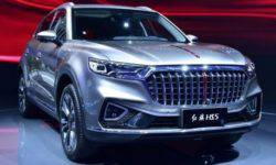 Hongqi HS5: all-wheel drive and the price is lower than the rival BMW X3