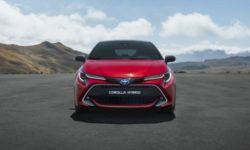 The start of sales of the New Toyota Corolla in Kharkov