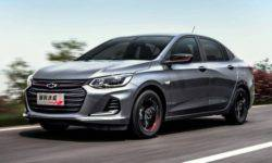 Chevrolet will launch on the market of China's sports sedan version of the Onix