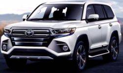 New Toyota Land Cruiser 300 declassified before the presentation