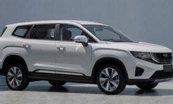 Geely will release the rival Toyota Highlander