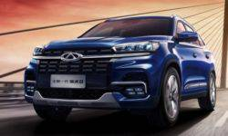 Updated Chery Tiggo 8 became more powerful and safer
