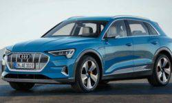 Audi e-tron can travel on a single charge up to 446 km