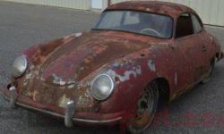 "Rusty Porsche 356 turned out to be more expensive than the new ""Cayenne"""