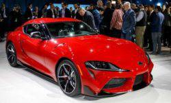 Toyota Supra new generation saves fuel