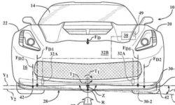 Mid-engine Corvette will be equipped with an active front splitter