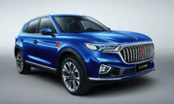 FAW opened the accepting pre-orders for the new SUV Hongqi HS5