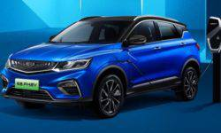 Geely will release a hybrid crossover Binyue with a bunch of electronic bells and whistles