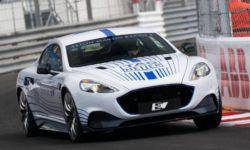 The first electric car Aston Martin made its debut in Monaco
