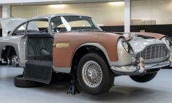 "Aston Martin started production of the ""James bond"" DB5"