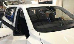 Appeared the first photos of the SUV Aurus Komendant