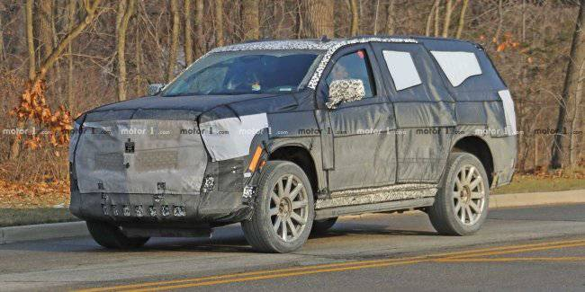 Premiere of the new Cadillac Escalade deferred
