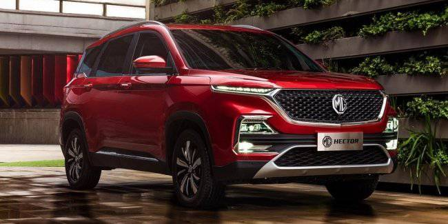Crossover MG Hector in many ways exceeded the related Chevrolet Captiva