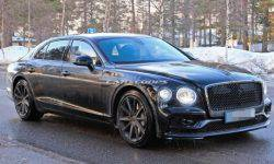 The interior of the new Bentley Flying Spur will trim 3D skin